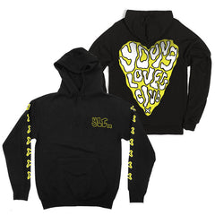 YLC X YELLOW PRINTED TRACK SUIT