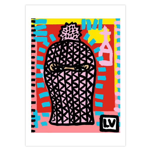 LIMITED EDITION BALACLAVA LITHOGRAPH