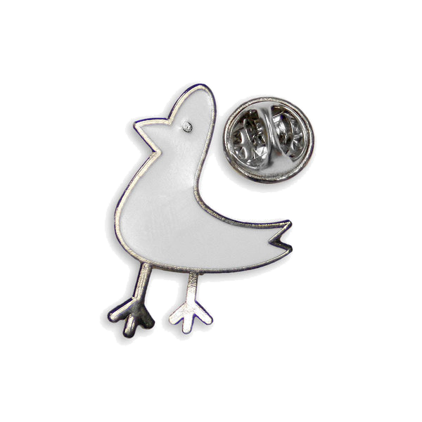 SEAGULL PIN BADGE