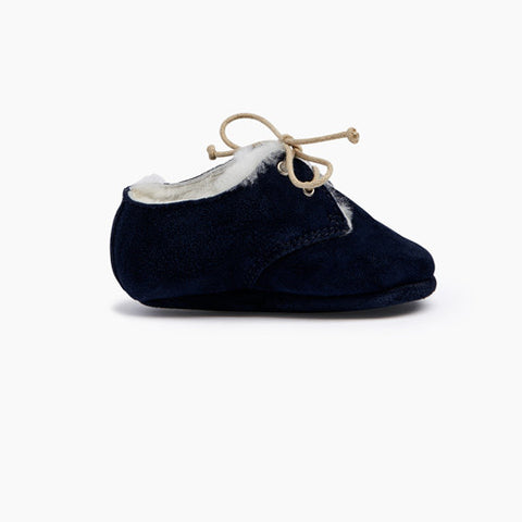 Tots Wooly Hobe Navy - 1