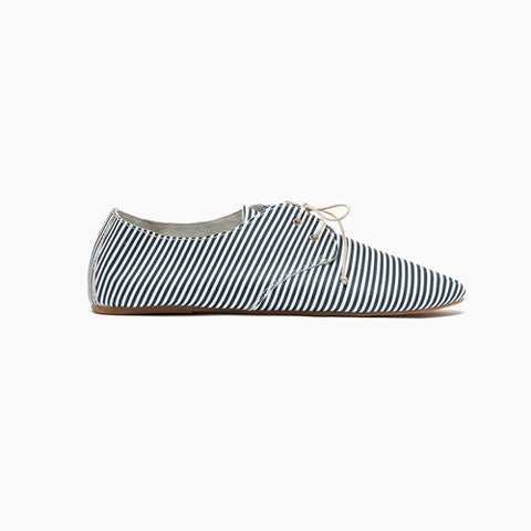 Women's Boat Hobe Navy Stripe - 1