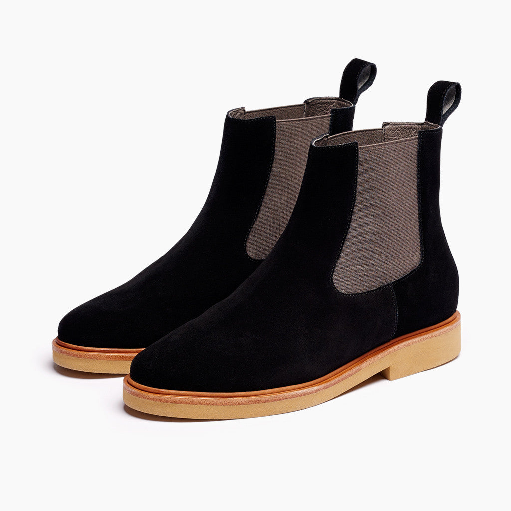 Women's Chelsea Boot Black - 4
