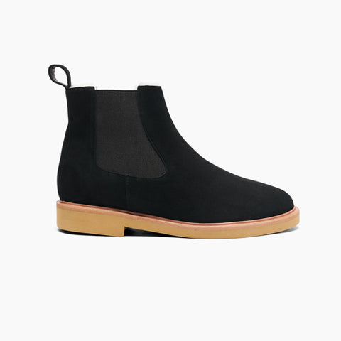 Women's Chelsea Boot Wool Black