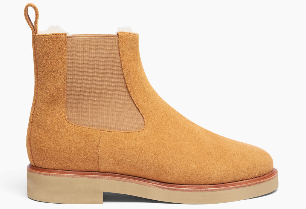 Women's Chelsea Boot Wool Mustard