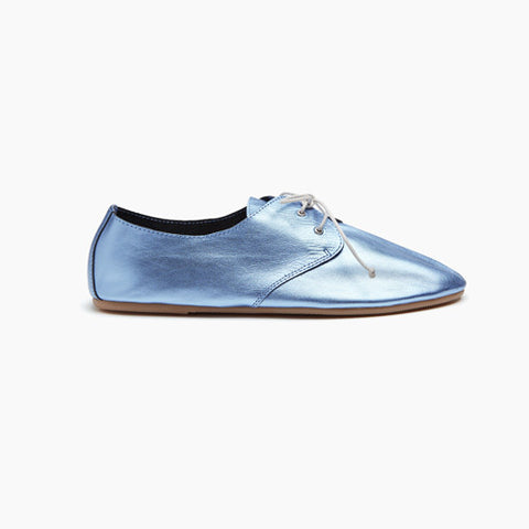 Women's Metallic Hobe Blue - 1