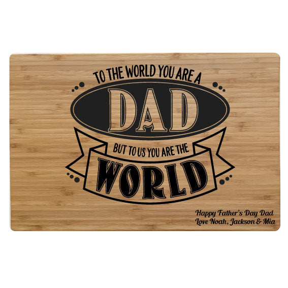 World Dad - Chopping Board