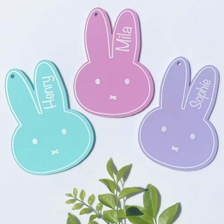 Bunny Name Tags