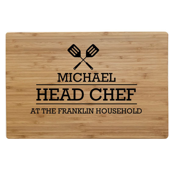 Head Chef - Chopping Board