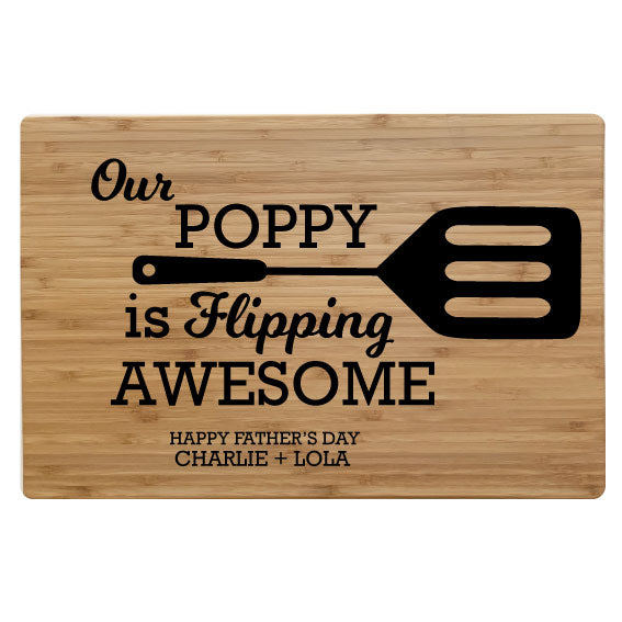 Flipping Awesome - Chopping Board