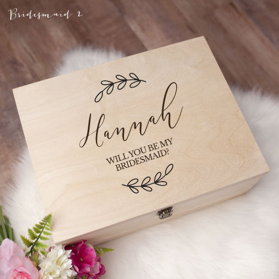 Memory Box - Bridesmaid 2