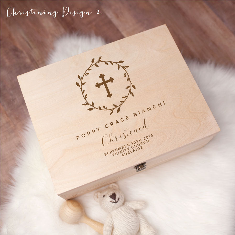 Memory Box - Christening Design 2