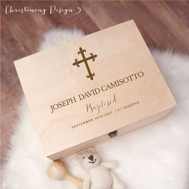 Memory Box - Christening Design 3