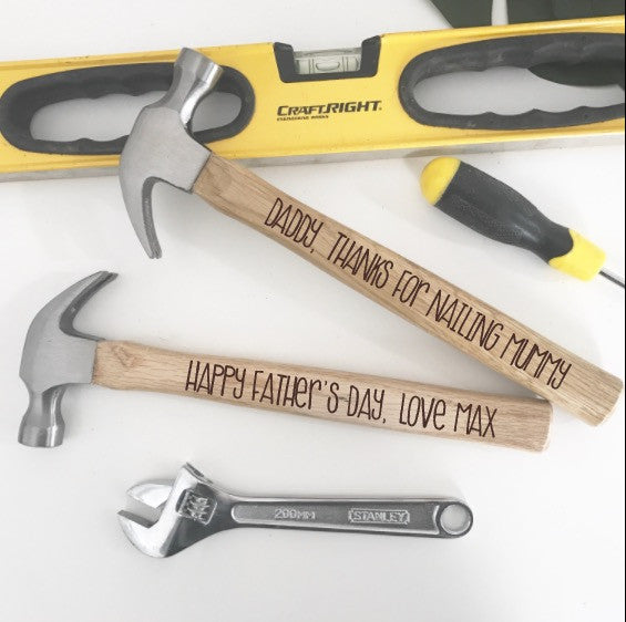 Personalised Hammer - Double Sided