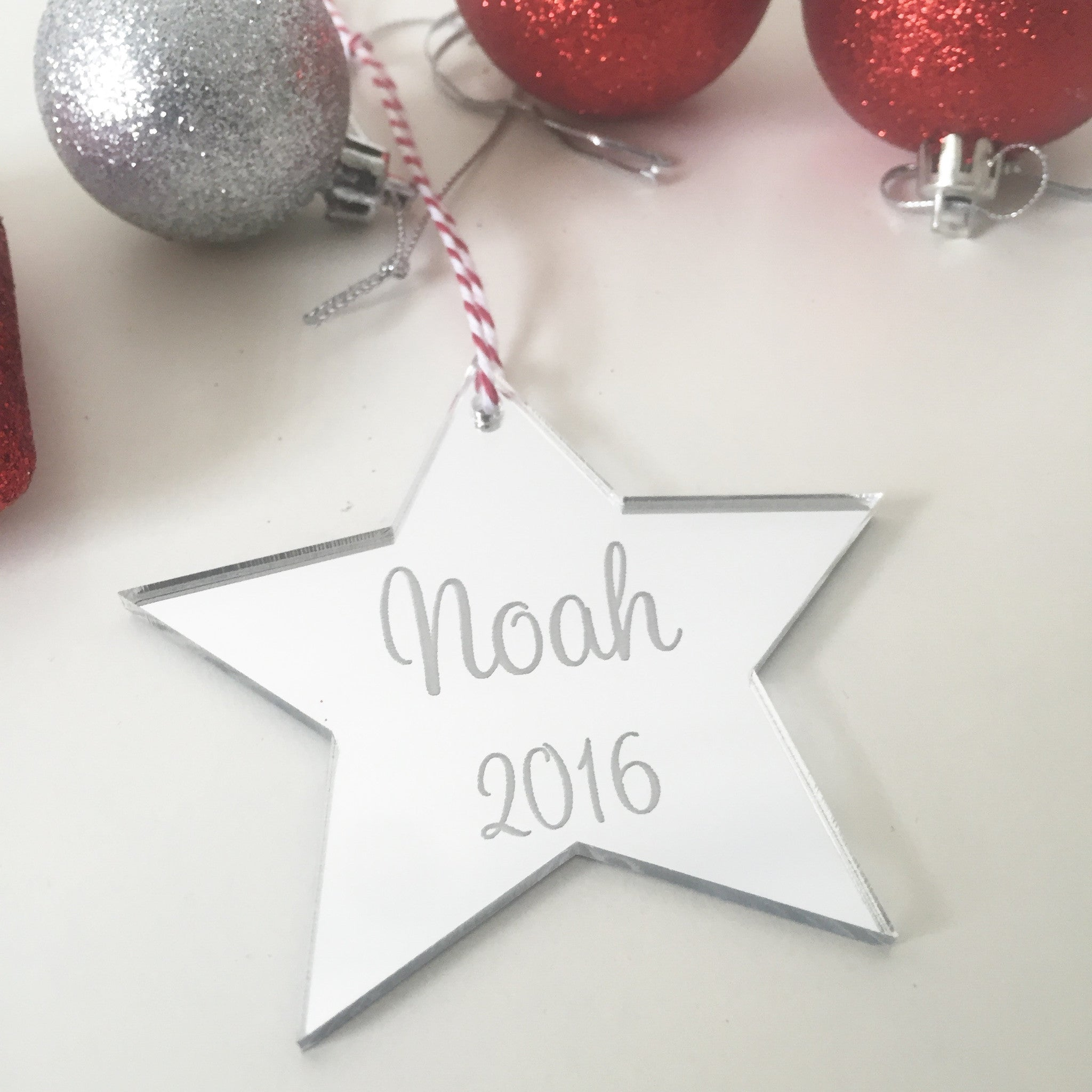 Christmas Decorations Personalised