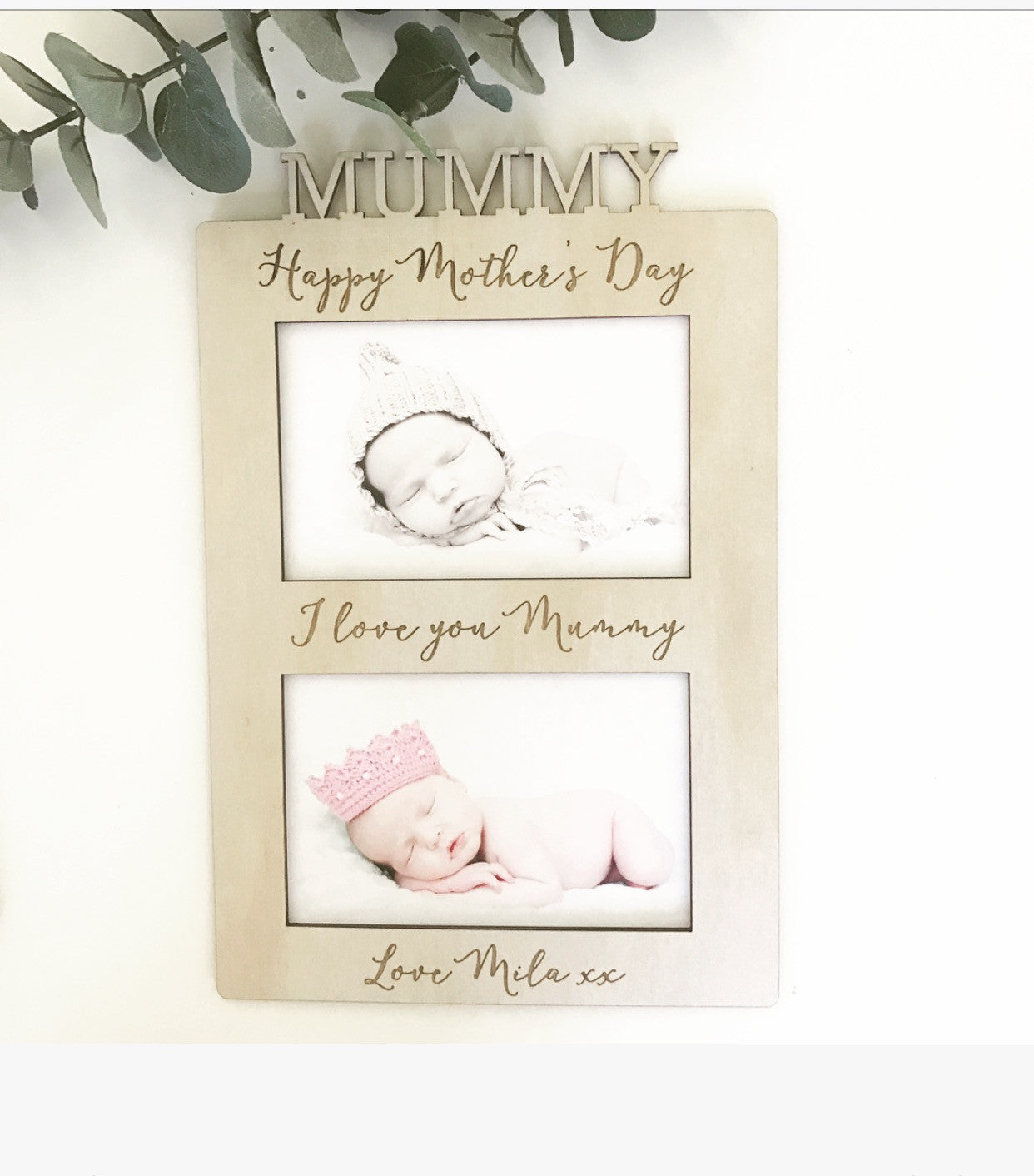 Mother\'s Day Frame - Double – Name It Custom Decor