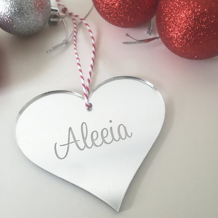 Christmas Decorations- Personalised