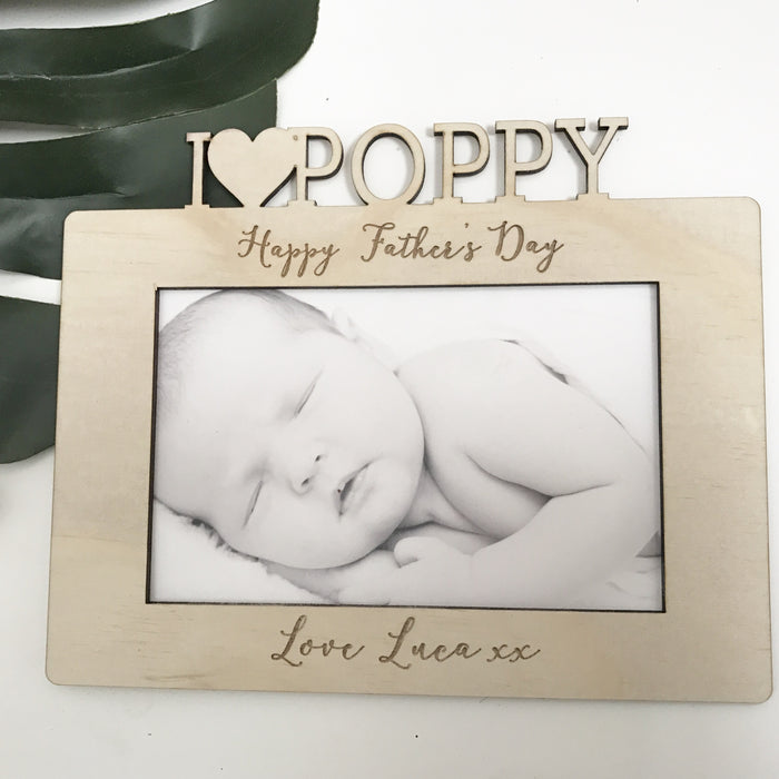 Father's Day Frame - Single