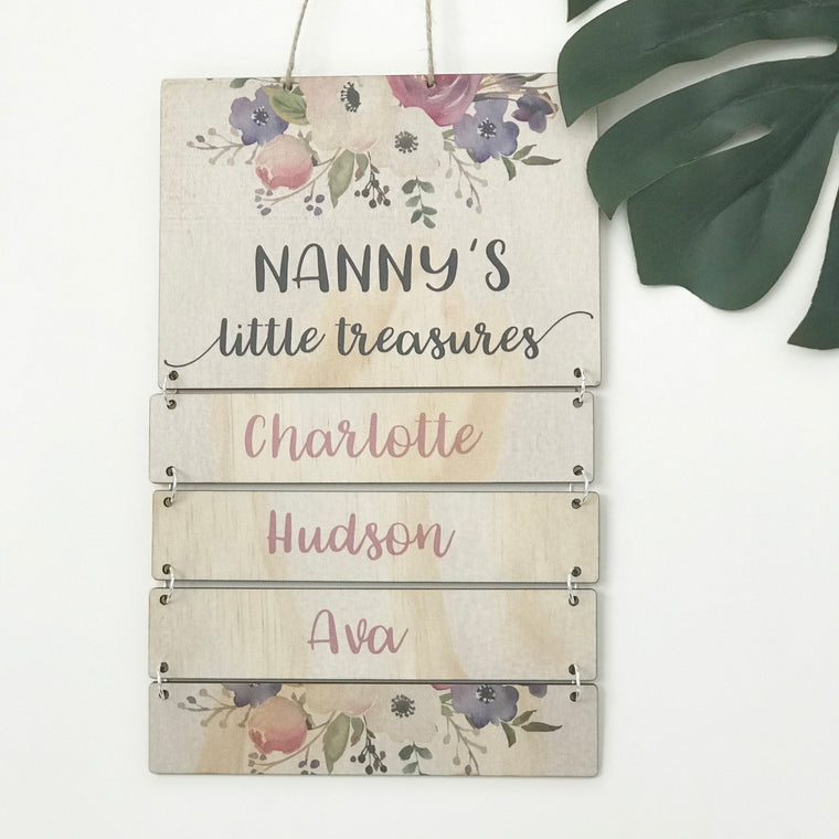Additional Name - Family Wall Hanging