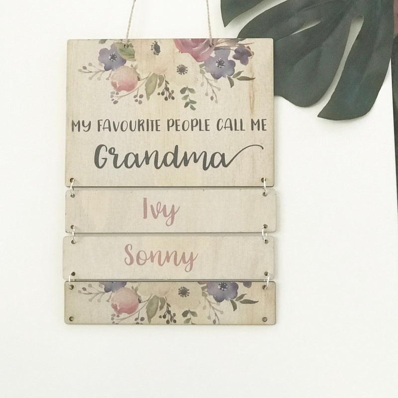 Grandparent Wall Hanging