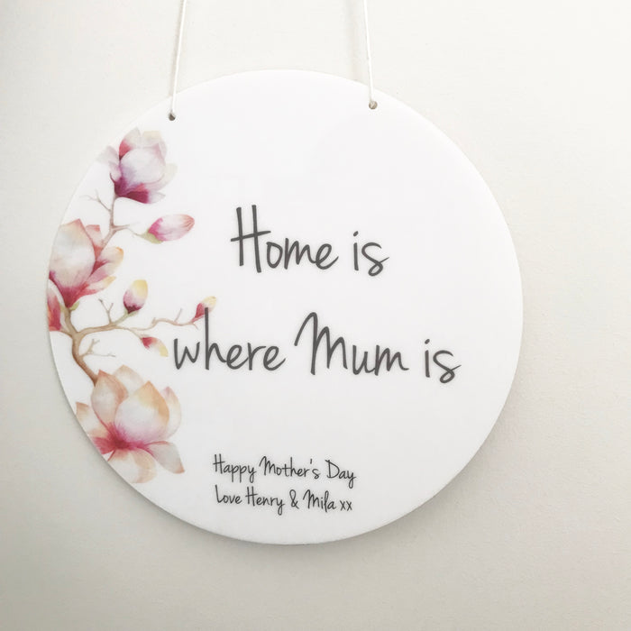 Home is Where Plaque