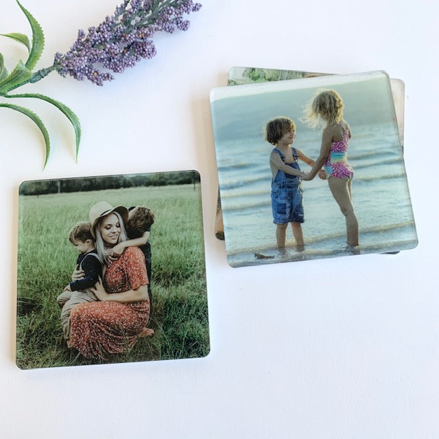 Square Photo Coasters