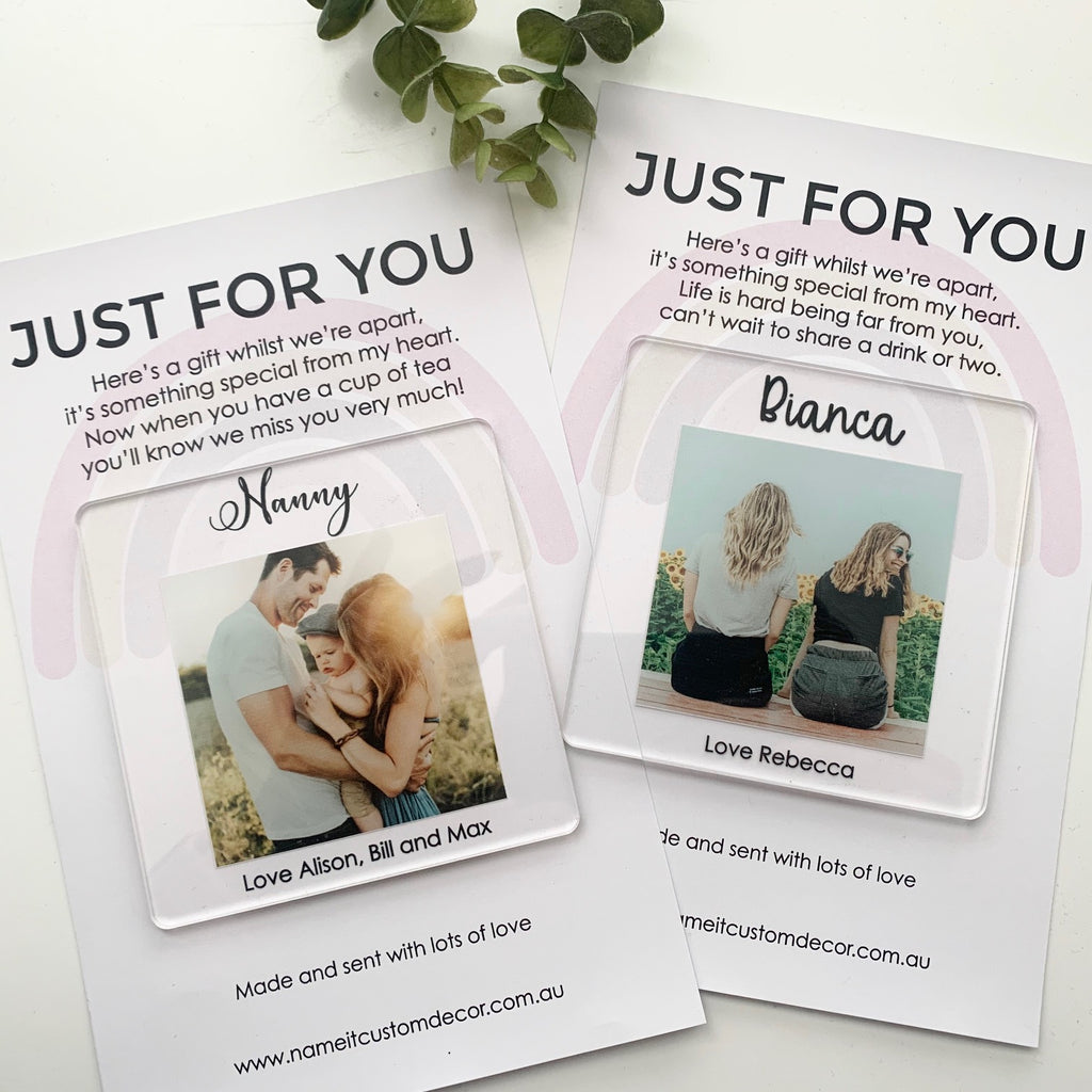 Just for you - Photo Coaster