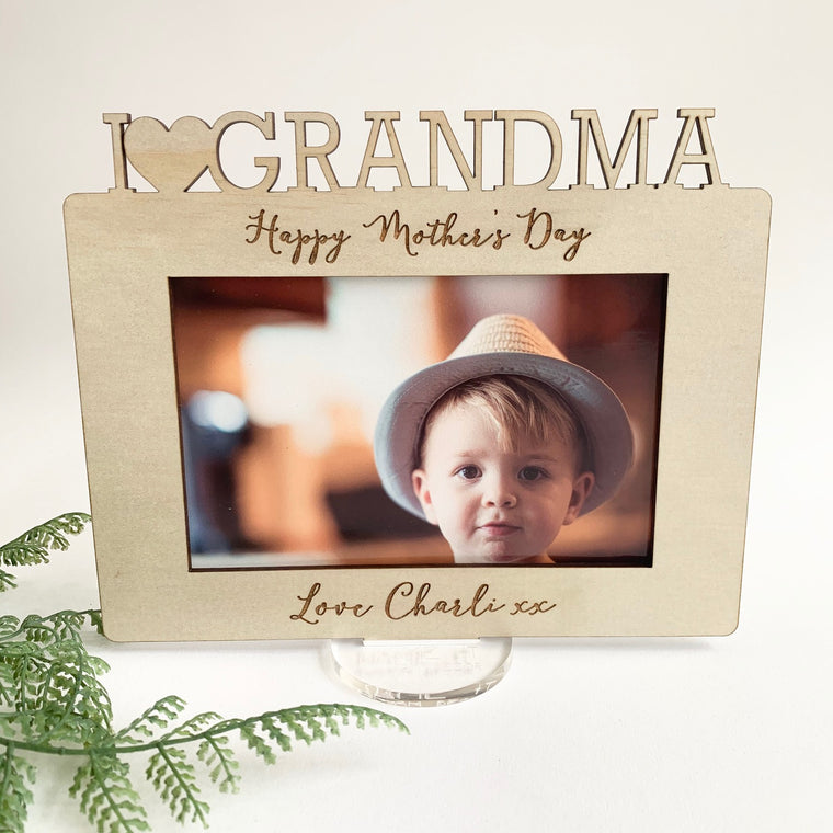 Mother's Day Frame - Single