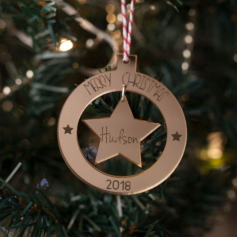 Floating Star Ornament