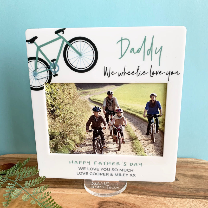Cycling - Printed Father's Day Frame