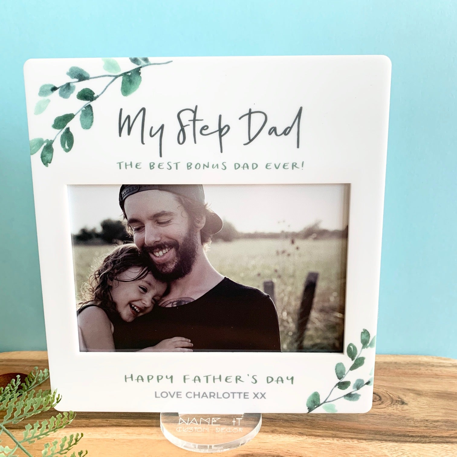 Eucalyptus - Printed Father's Day Frame