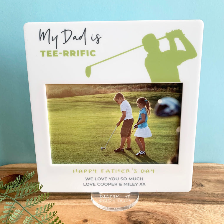 Tee rrific - Printed Father's Day Frame