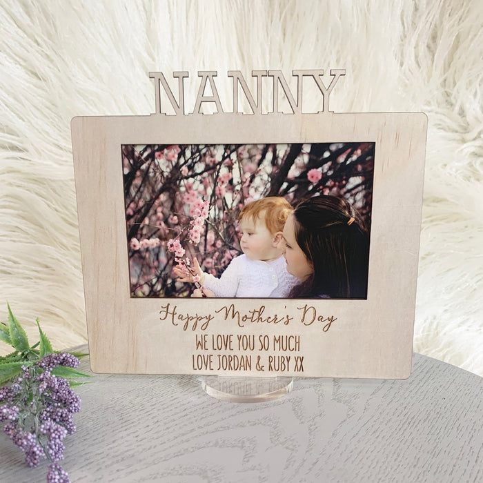 Custom Mother's Day Frame