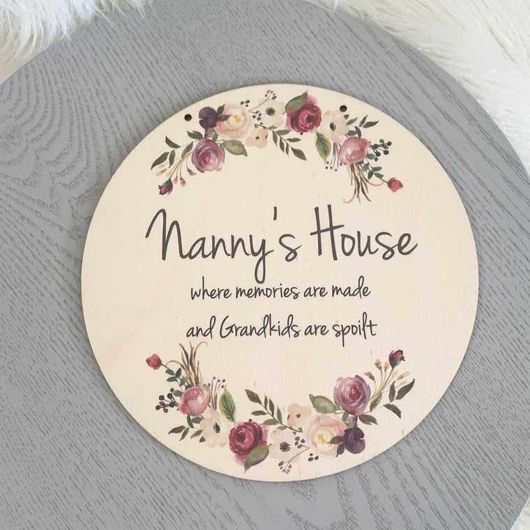Personalised Mother's Day plaque