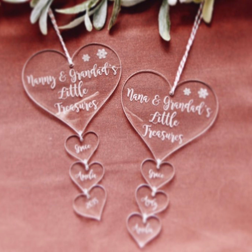 Family - Grandparent Charm Ornament