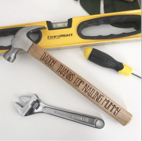 Personalised Hammer - Single Sided
