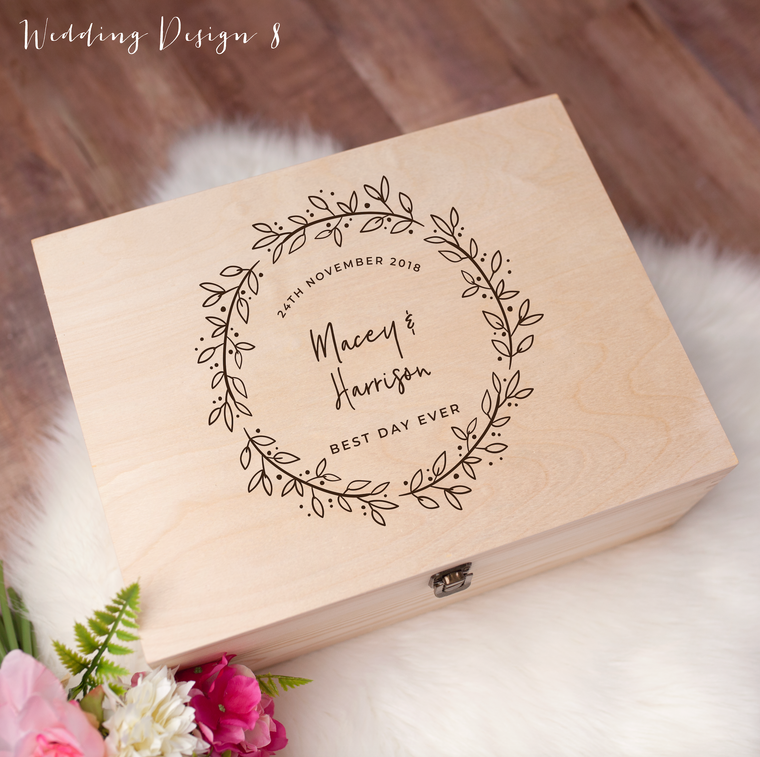 Memory Box - Wedding Design 8