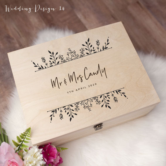 Memory Box - Wedding Design 16