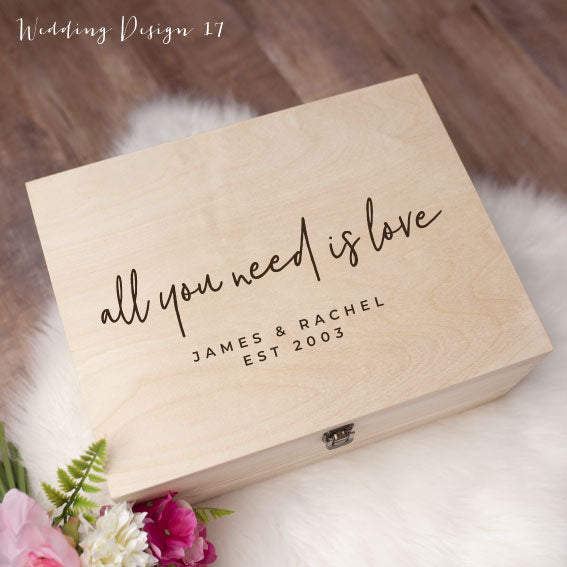 Memory Box - Wedding Design 17
