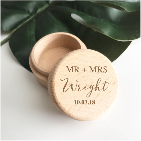 Ring Box - Mr & Mrs 3