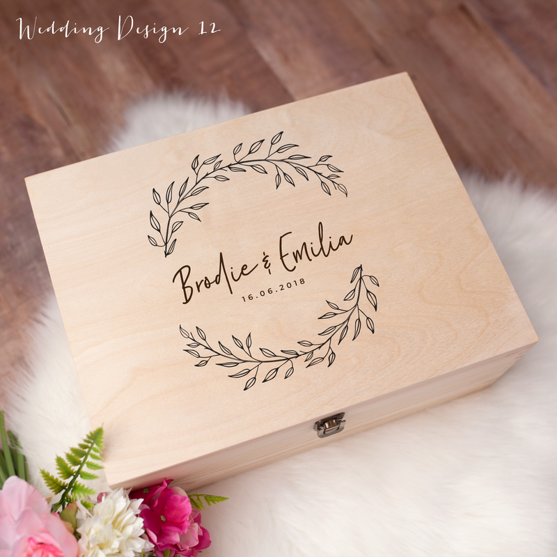 Memory Box - Wedding Design 12