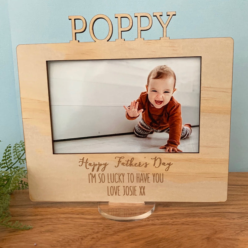 Custom Father's Day Frame