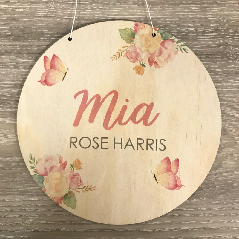 Printed Name Plaques