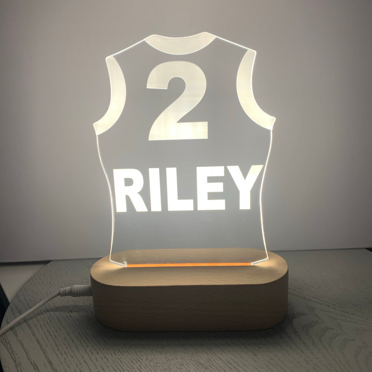 Guernsey Personalised Night Light