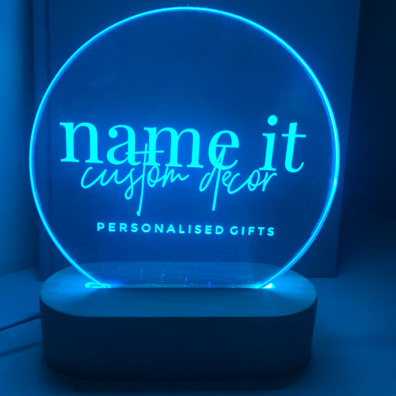 Logo Night Light