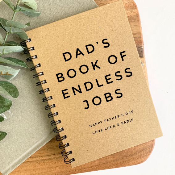 Endless Jobs - Personalised Note Book
