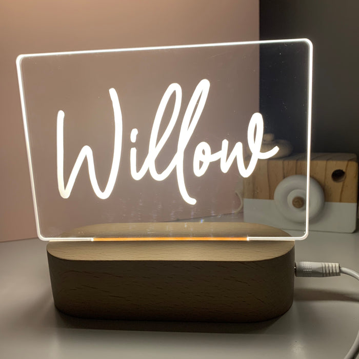Personalised Night Lights