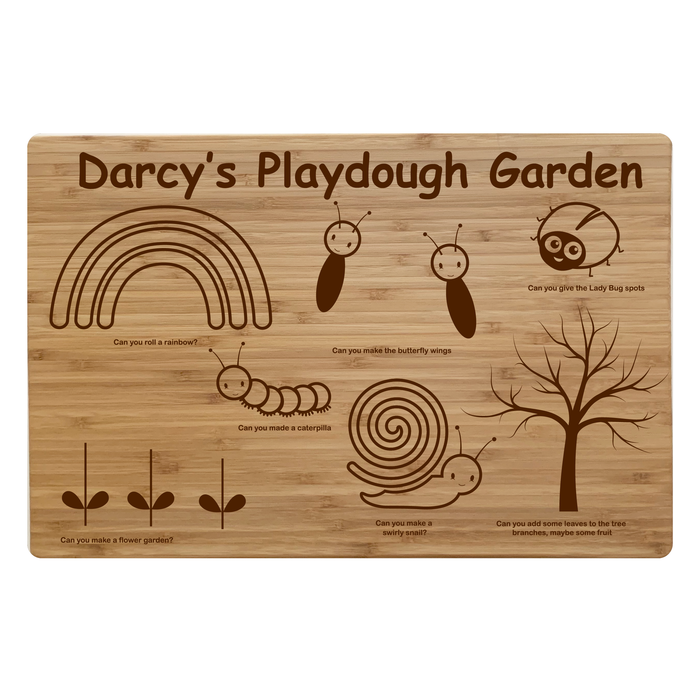 Personalised Play dough Board