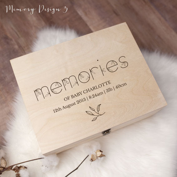 Memory Box - Remembering 3