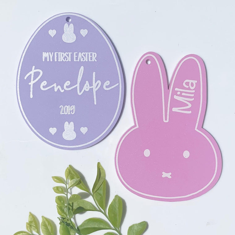 Easter Egg Name Tags