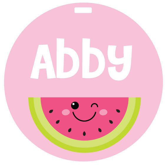 Watermelon Bag Tag